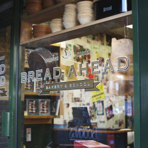 Bread Ahead bakery & school Borough Market