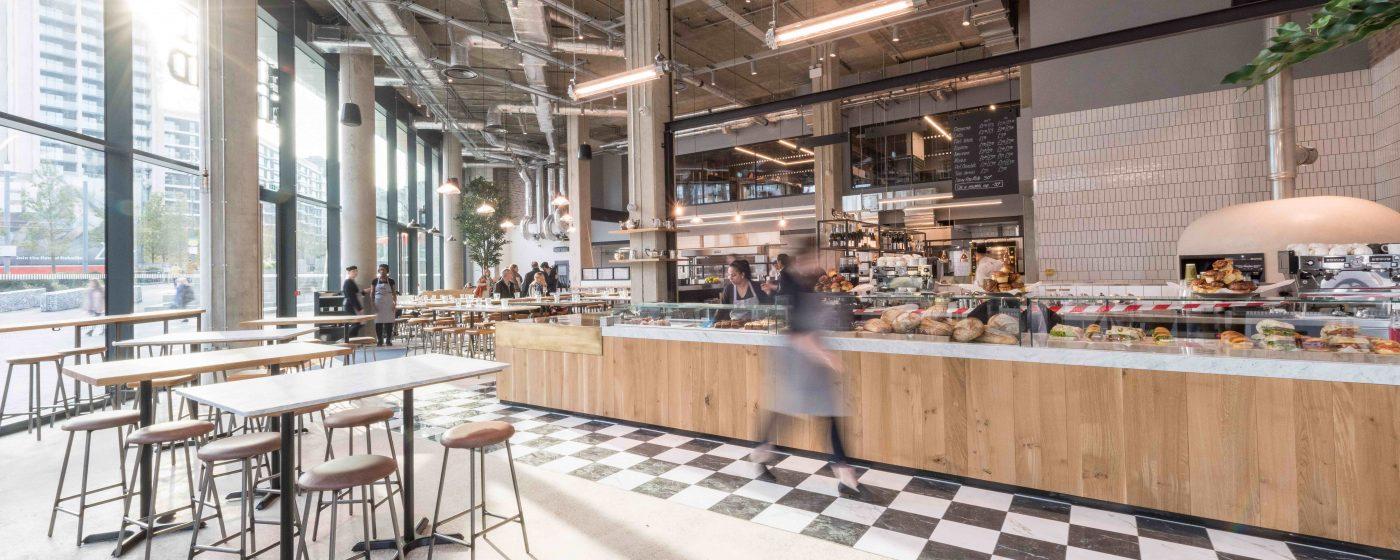 Bread Ahead bakery & school Wembley