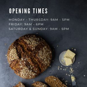Bread Ahead opening hours
