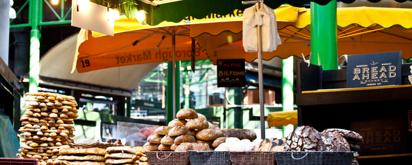 The Bread Ahead Stall