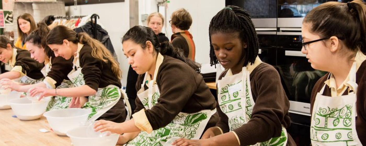 Bread Ahead Schools Programme