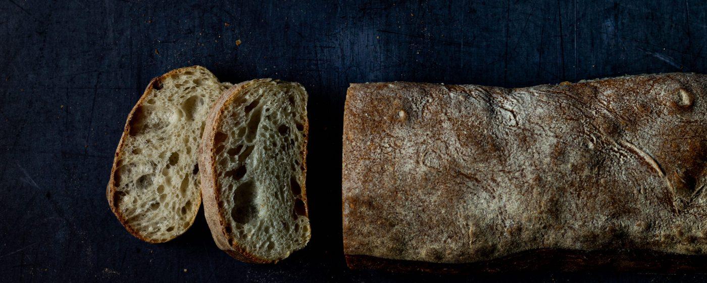 ciabatta bread from a bread making course