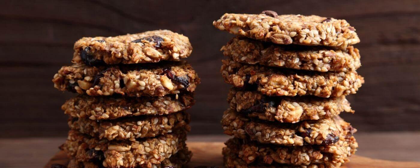 Image of Bread Ahead lamas day heritage grain cookies.