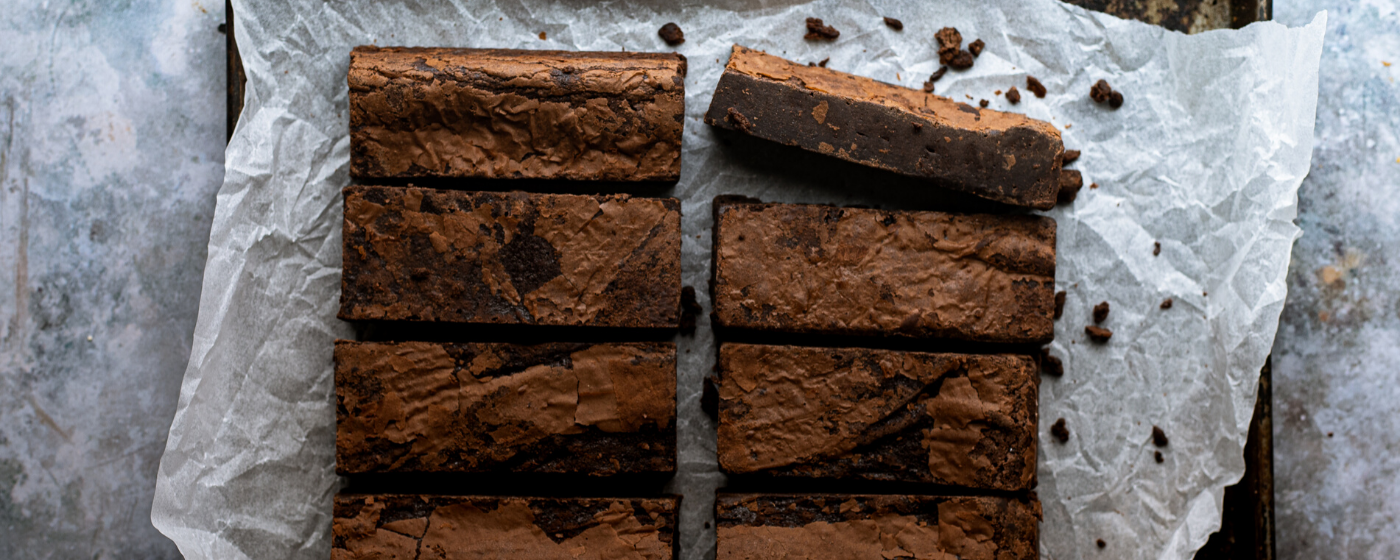 Bread Ahead brownies - delivery
