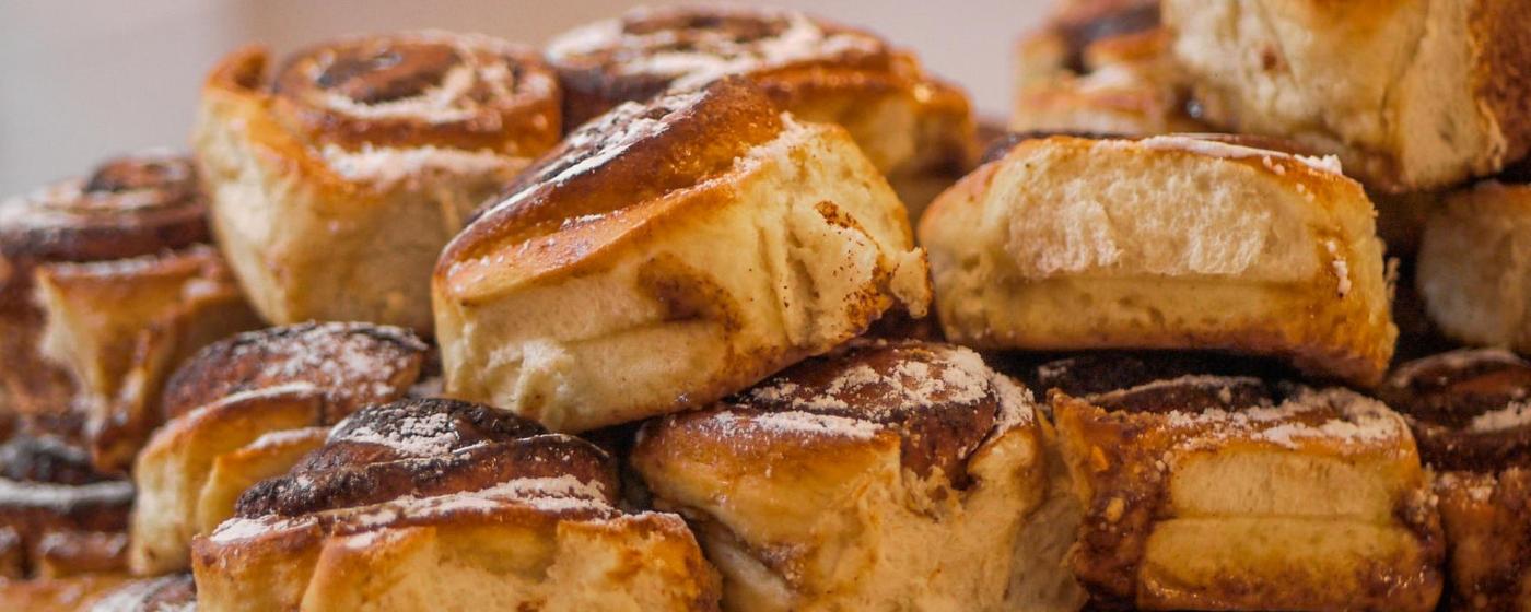 Bread Ahead cinnamon strudel