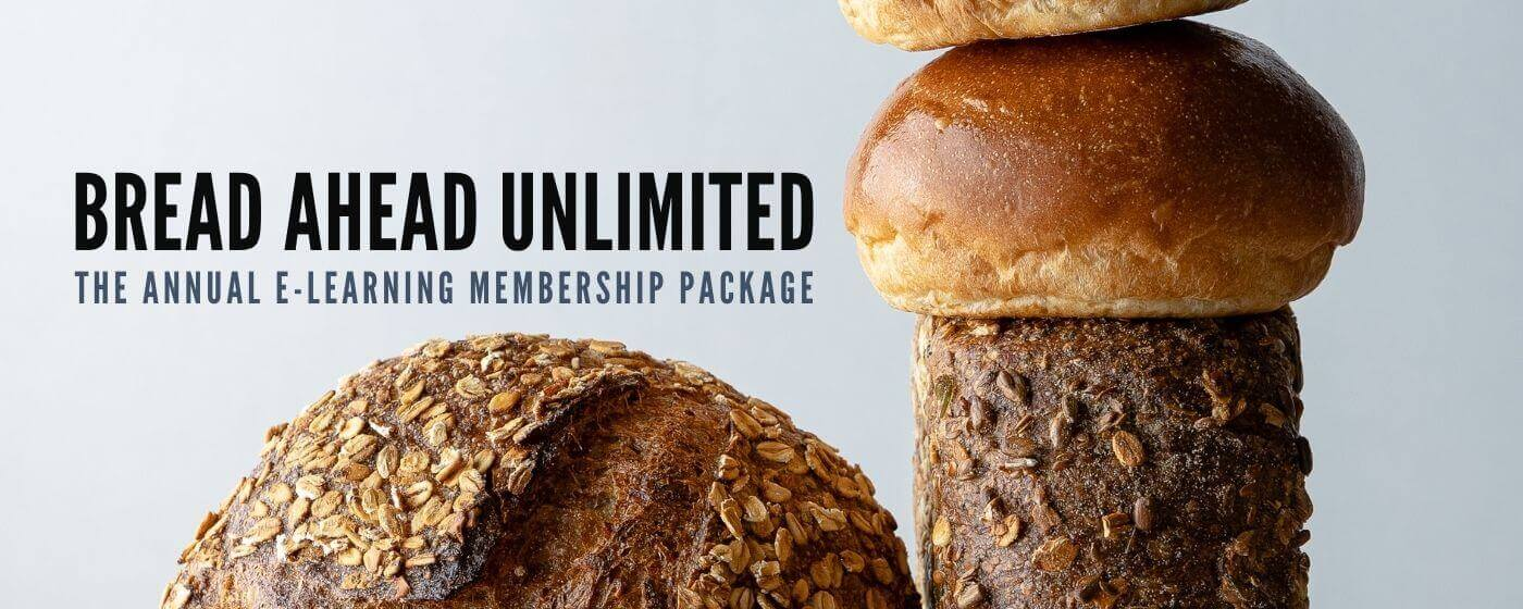 Unlimited access to bread ahead baking courses