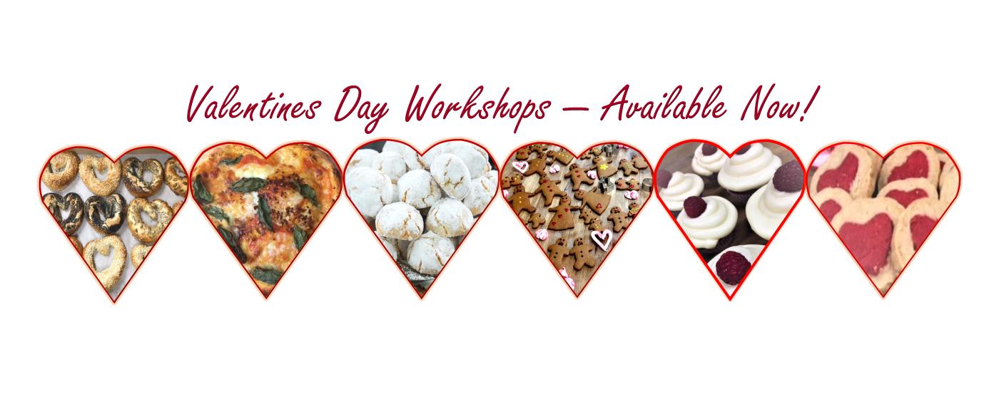 Valentines Day Baking Workshops