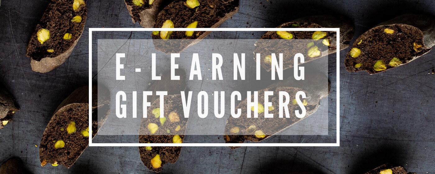 Gift voucher for online baking classes